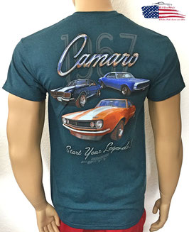 #CAMOS - Camaro T-Shirt - Start Your Legends - 1967er Camaro