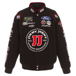 """#KH4JJK - Kevin Harvick """"4"""" NASCAR Jacke - Jimmy Johns - Schwarz"""