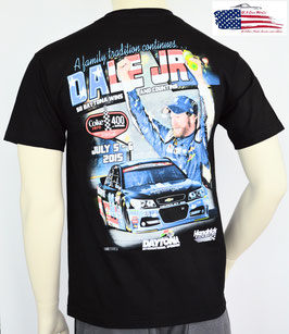 #DJTUS - Dale Jr. T-Shirt - Coke 400 Win - Patriotic