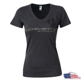 #GB942 - Corvette C7 Stingray Ladies Shirt