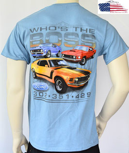 #FMWTB - Ford Mustang T-Shirt - Who's The Boss