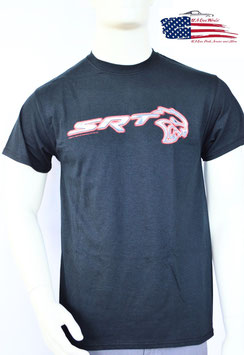 #DHTFA - Dodge SRT Hellcat T-Shirt - Chrome Print