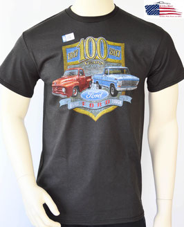 Ford Trucks T-Shirt - Ford Trucks 100 Years - Schwarz