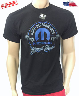 #MOPSS - Mopar T-Shirt - Mopar Speed Shop - Piston - since 1937
