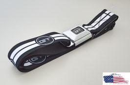 #WFM026 - Ford Mustang Sicherheitsgurt Gürtel mit Mustang GT Print
