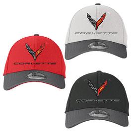 Corvette C8 Basecap - Corvette New Generation Cap - Two Tone Optik