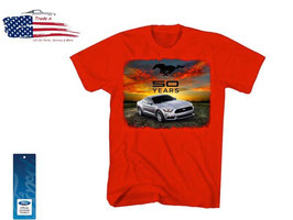 #22975 - Ford Mustang T-Shirt 50 Years - 2015er Mustang