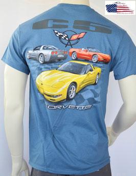 #CVVC5 - Corvette C5 T-Shirt - Corvette C5