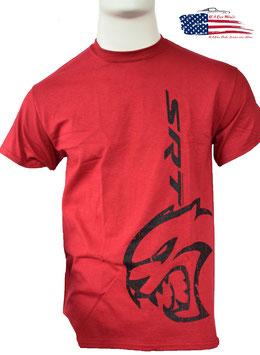 #DHCVR - Dodge SRT Hellcat T-Shirt - Dunkelrot