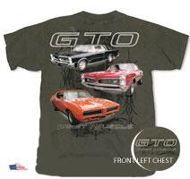 #CVFM3 - Pontiac GTO T-Shirt - Muscle