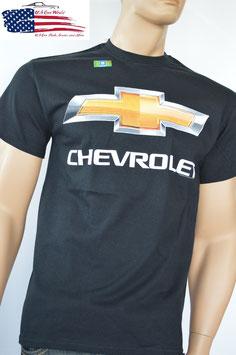 #CVCCL - Chevrolet T-Shirt - Chevy Bowtie Chrome Logo