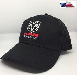 Dodge RAM Truck Basecap - Mesh - Schwarz