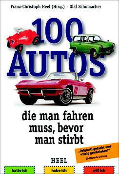 100 Autos, die man fahren muss, bevor man stirbt - Buch