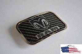 #DRD - Dodge RAM Buckle Carbon - Gürtelschnalle