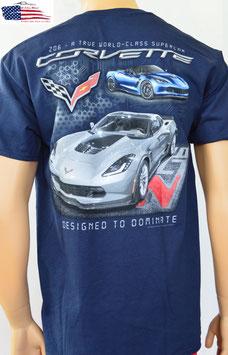 #CVDTD - Corvette T-Shirt Corvette C7 - Corvette Z06
