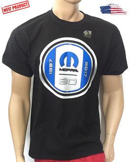 #MOP80BK - Mopar 80th Anniversary T-Shirt - Schwarz