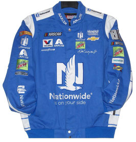 #DRW17 - Dale Earnhardt Jr. Jacke - Nationwide NASCAR Jacke - Royalblau