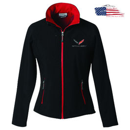 Corvette C7 Ladies Softshelljacke