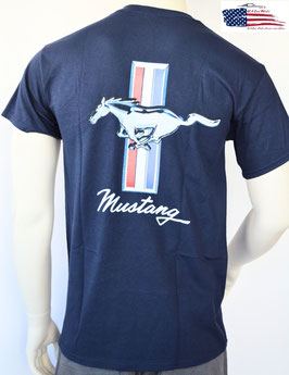 #FMS64 - Ford Mustang T-Shirt - Tribar Logo - Since 1964