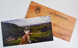 Gutschein für Weinprobe/Weineinkauf (ab Hof)