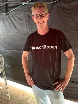 #abschüppen  das T-Shirt
