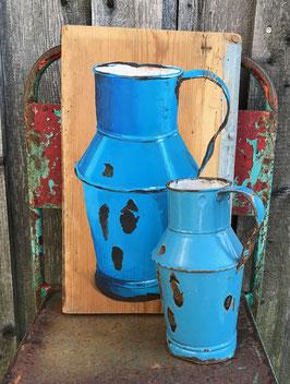 Blaue Kanne, tolle Form