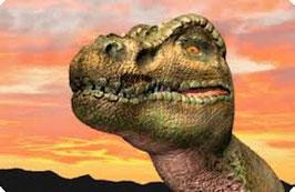 authentic MAGNET - Tyrannosaurus Rex (3D Magnet)