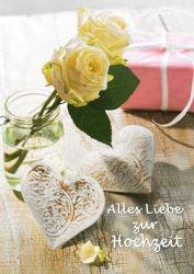 authentic CARD - Alles Liebe zur Hochzeit