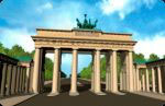 authentic MAGNET - Brandenburger Tor (3D Magnet)