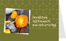 authentic GREETING CARD Herzlichen Glückwunsch zum Geburtstag (3D Karte)