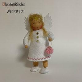 Engel mit Beinchen Sorgenbeutel reserviert für Monika