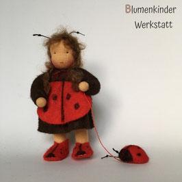 Marienkäfer Beinchenpuppe