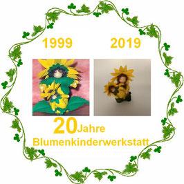 Jubiläumsausgabe Sonnenblume mit Baby