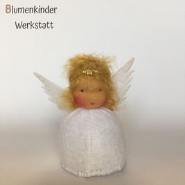 Engel blond Kegelpuppe
