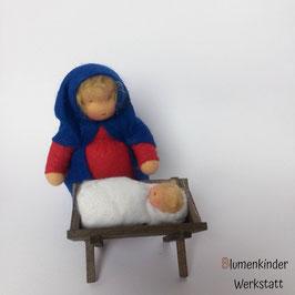 Maria mit Kind und Krippe