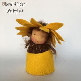 Sonnenblume Kegelpuppe