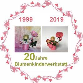 Jubiläumsausgabe Heckenrose mit Baby und Blüte