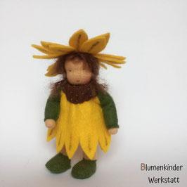 Sonnenblume Beinchenpuppe