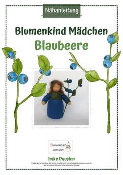 Nähanleitung Blaubeermädchen