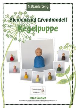 Nähanleitung Kegelpuppe Grundmodell