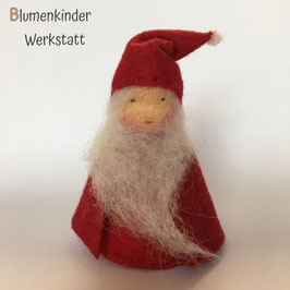 Weihnachtsmann Tomte  Kegelpuppen