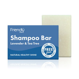 LAVENDER & TEA TREE SHAMPOO BAR 95g