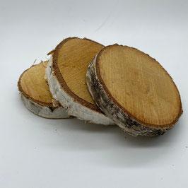 Birkenholzscheiben 8-10 cm