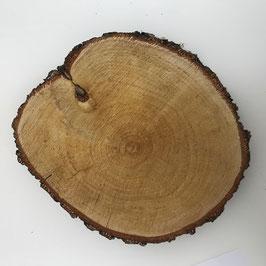 Birkenholzscheibe 19-22 cm