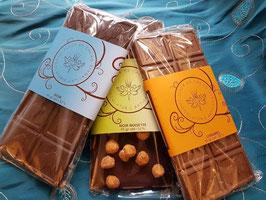 Plaques de chocolats à choix
