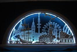 Stadtlichter LED Schwibbogen NEU