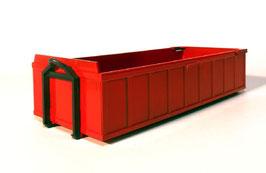 Art.-Nr. E 99105 Absetzcontainer niedrig rot 1:25