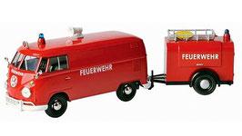 Art.Nr. 16.464  VW T1 Feuerwehr mit Anhänger