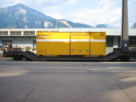 Art.-Nr. 19014 Wechselbehältertragwagen RhB Sb-v 7721