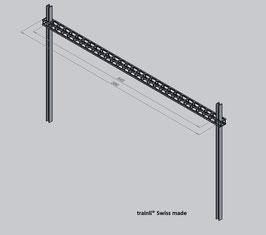 Art.-Nr. AZL 7360 Querträgerfachwerk nach  Kundenwunsch  in der Länge gefertigt